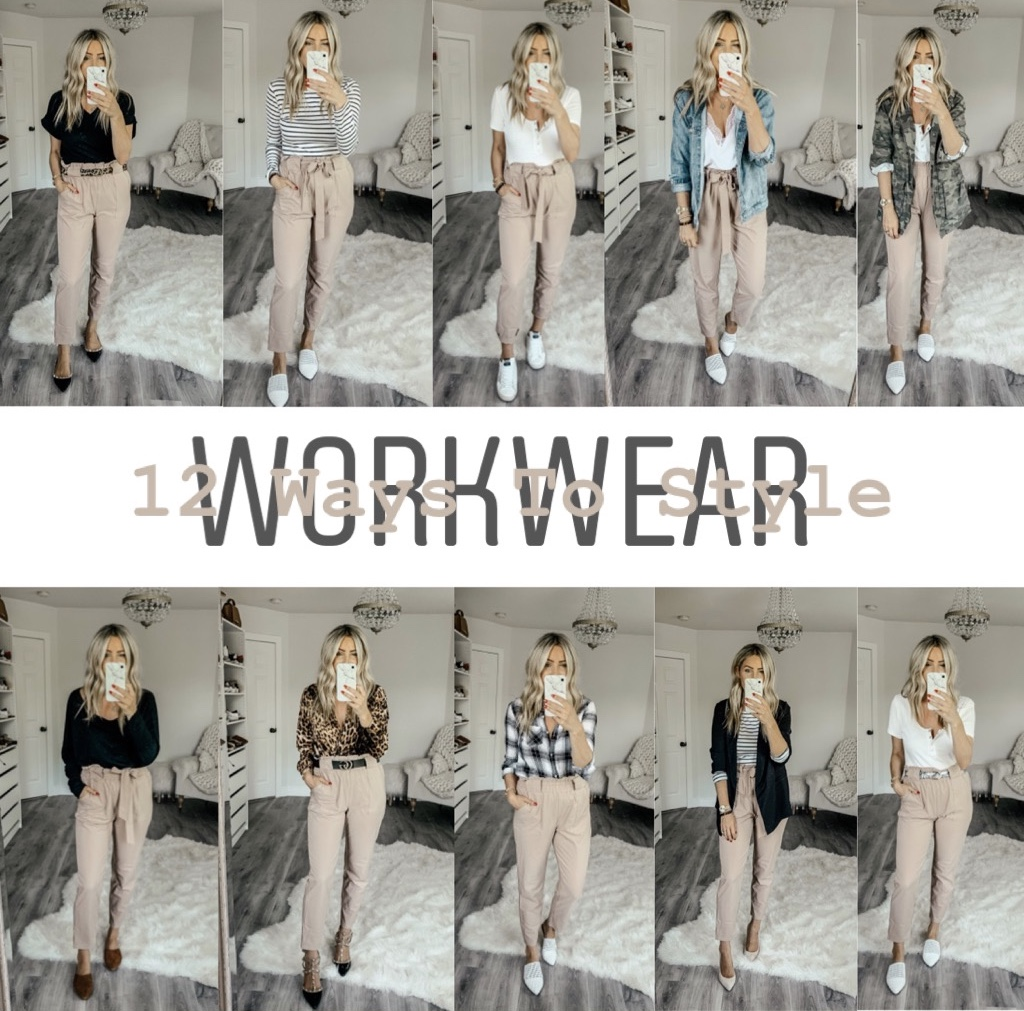 12 Ways To Style: WorkWear Edition