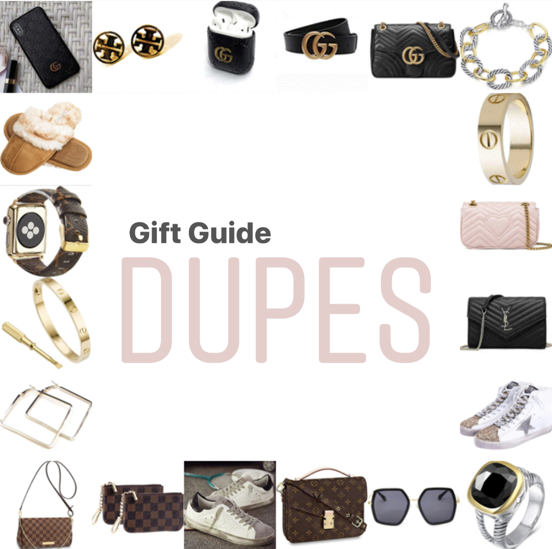 Gift Guide of Top Selling Dupes