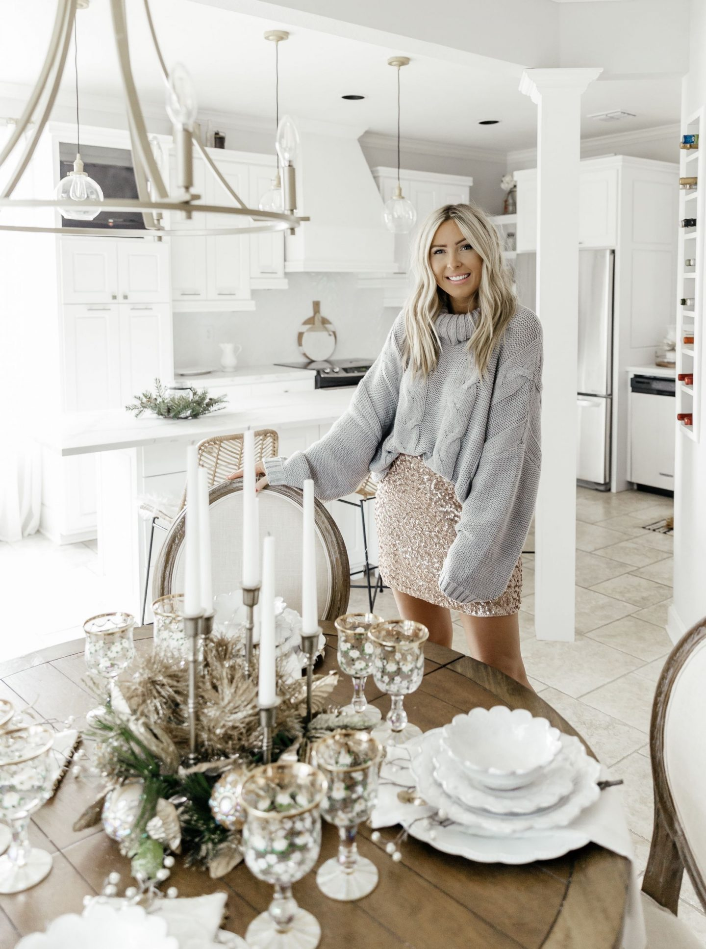 Everyday Tablescape with A Little Holiday Flare with MacKenzie-Childs