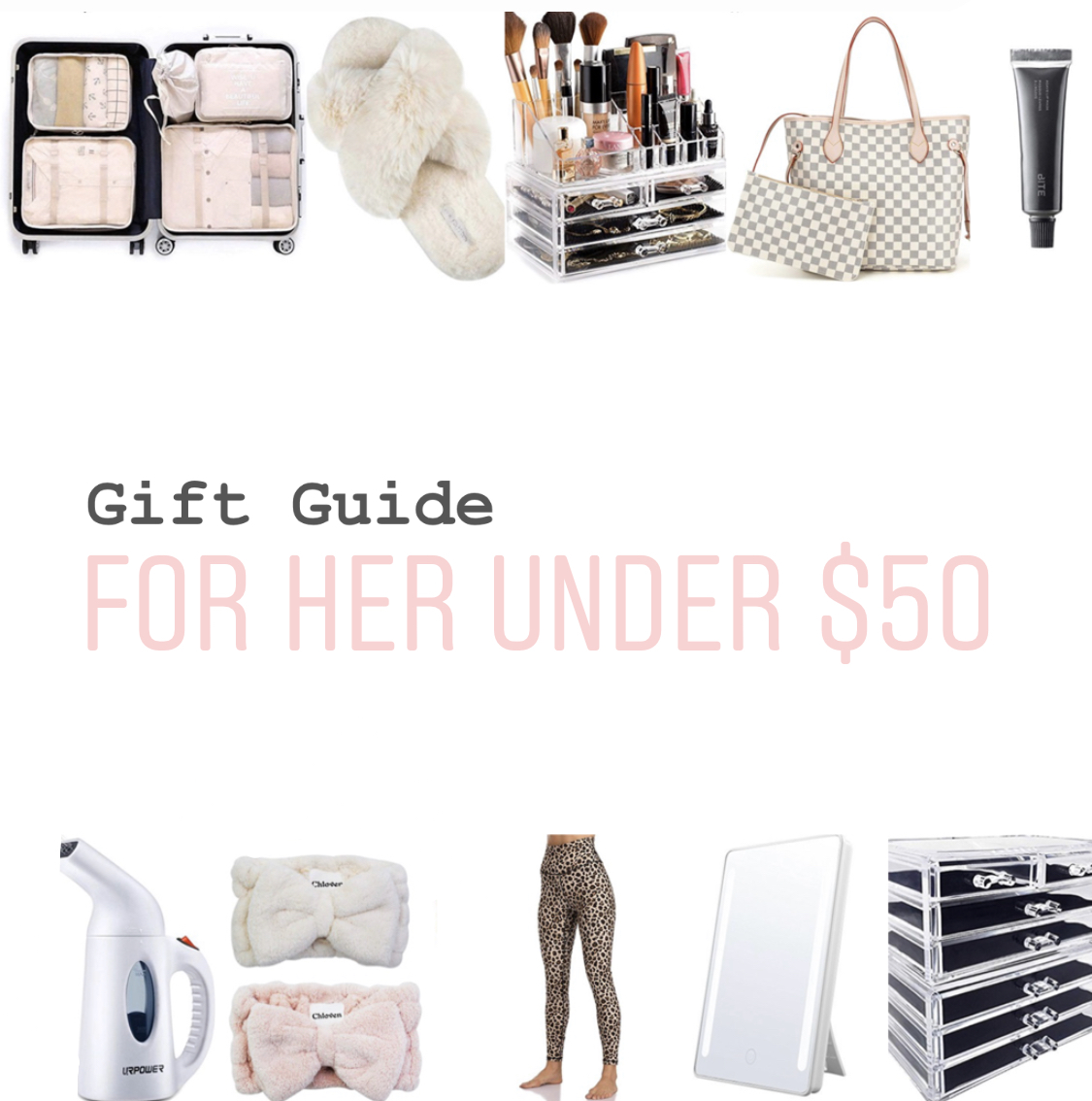 25 Gifts for HER Under $50